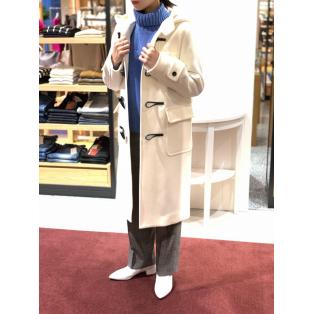 Wool Melton Long Duffel Coat