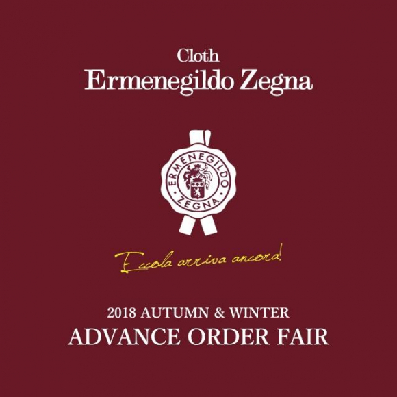 Ermenegildo Zegna ADVANCE ORDER FAIR
