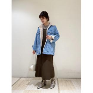 【5 1/2】 3RD-LINE ボアデニムジャケット
