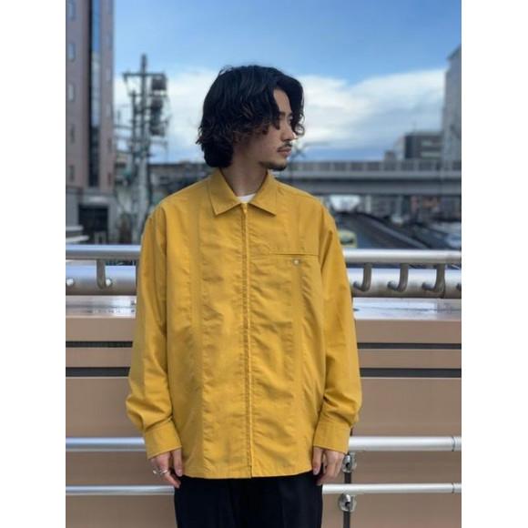 【WISLOM/ウィズロム】別注ピンタックシャツジャケット