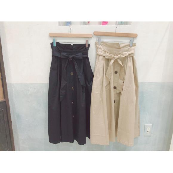 ♡フロントボタンフレアスカート♡