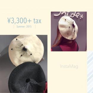 新作✩︎ベレー帽