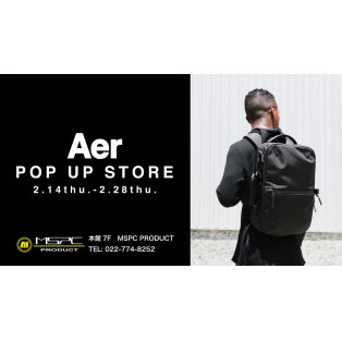 Aer POP UP STORE
