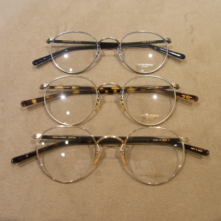 OLIVER PEOPLES 再入荷のお知らせ