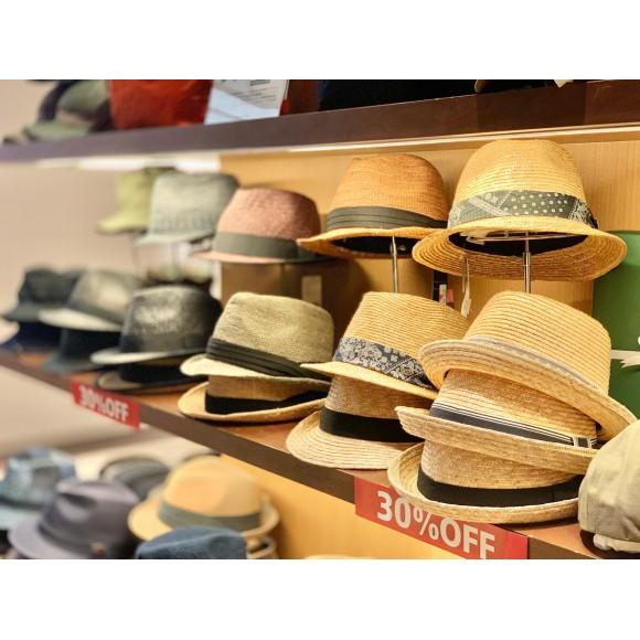 「SALE」帽子30%OFF!!!