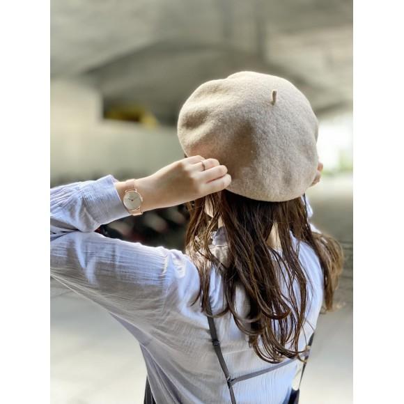 「ベレー帽」気軽にワンランク上のコーディネートを!