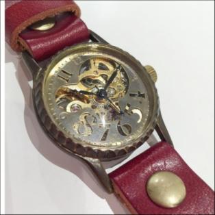手巻き時計