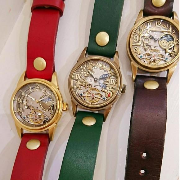 手作り時計(*^^*)
