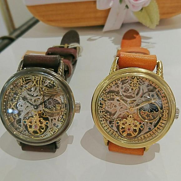 手巻き時計♪