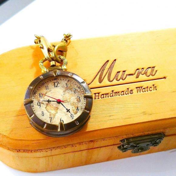 父の日おすすめハンドメイド懐中時計♪