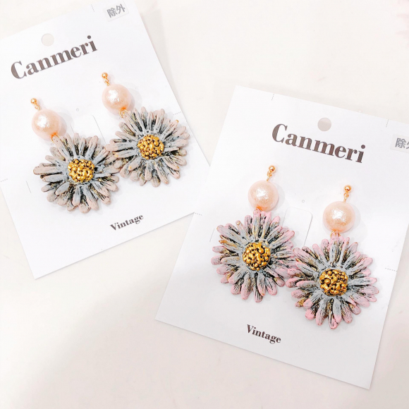 canmeri vintage新作ピアス♬