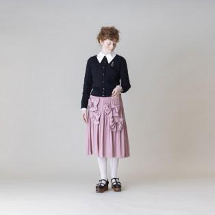 【Jane Marple】ドライサテンribbon loversスカート