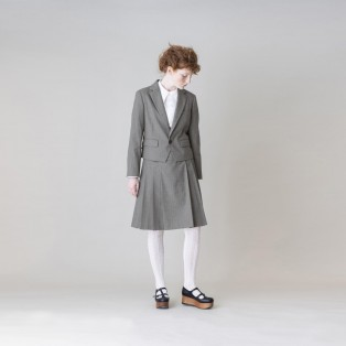 【Jane Marple】Bespoke stripe スペンサージャケット
