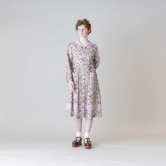 【Jane Marple】Heirloom ヴィンテージマリンカラードレス