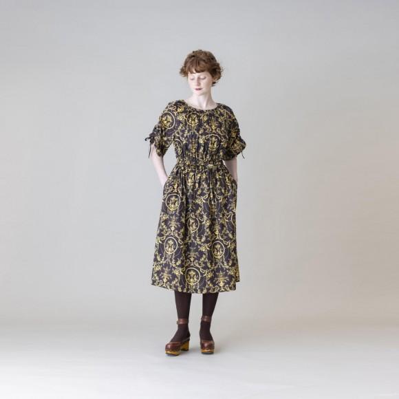 【Jane Marple Dans Le Salon】Marie Antoinetteドローストリングドレス