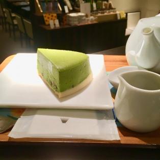 抹茶チーズケーキ♪