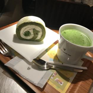 抹茶と抹茶