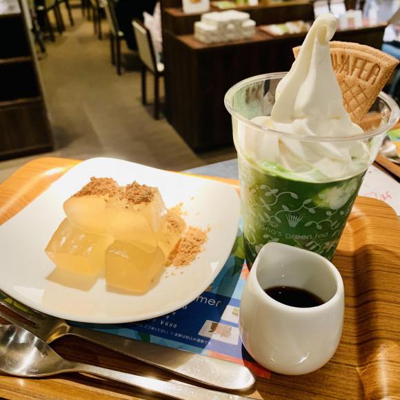 わらび餅&ソフトクリームフローズン♪