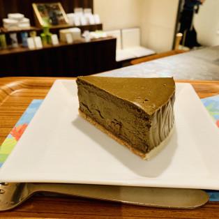 ほうじ茶チーズケーキ!