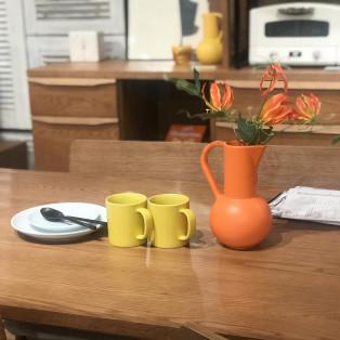 お気に入りの食器で食卓に彩りを