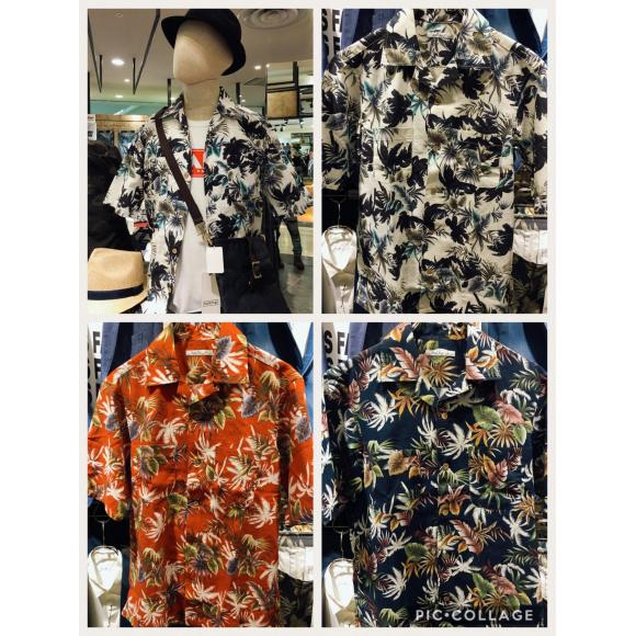 このシーズンを彩るアロハシャツ紹介☆&イベント情報 MIND BLOW 仙台PARCO店