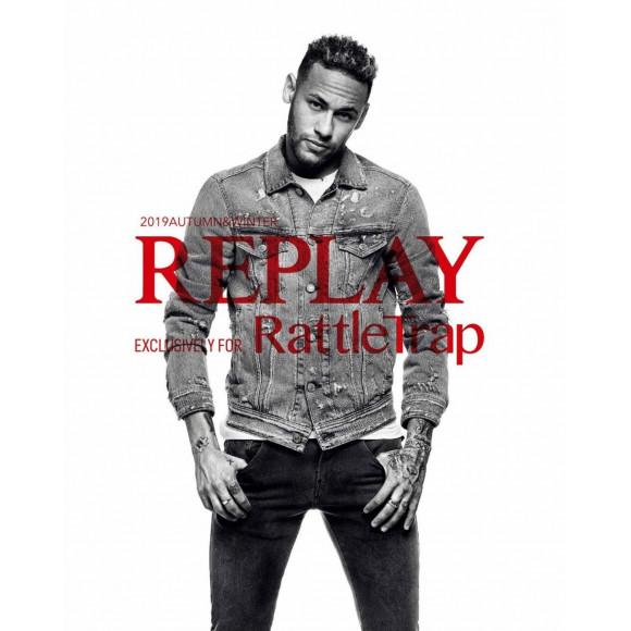 世界的デニムブランド「REPLAY」にRATTLE TRAPが世界初となるコラボレーションを実現!!