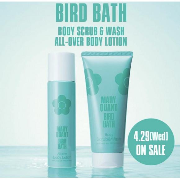 BIRD BATH  BODY SCRUB & WASH /  ALL OVER BODY LOTION
