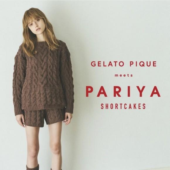 ♡GELATO PIQUE meets PARIYA♡