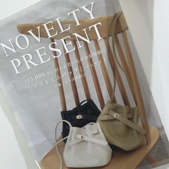 *・゜゚‥ノベルティプレゼント.。.:*⚪︎