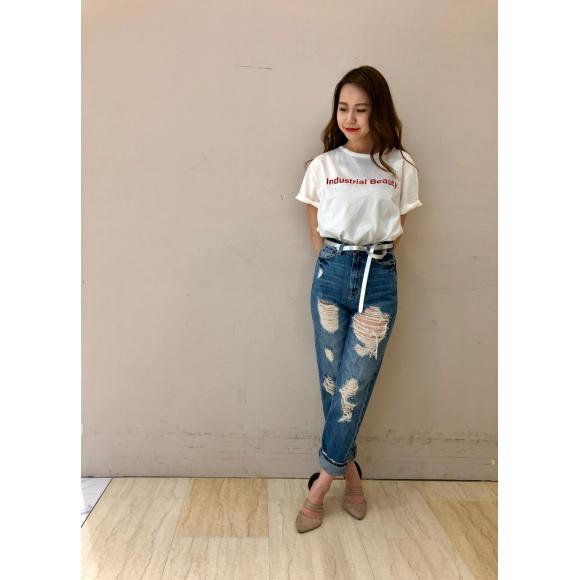 サラッと着れてシンプルで可愛いTシャツ♡