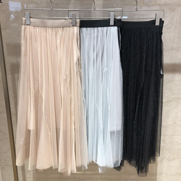 シャイニーラインスカート☆