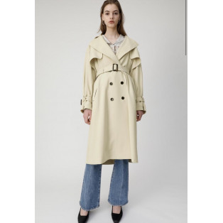 OVER SILHOUETTE TRENCH COAT ❤︎