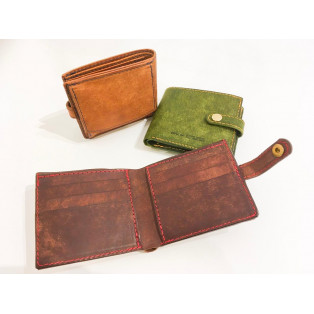 二つ折カジュアル財布✰