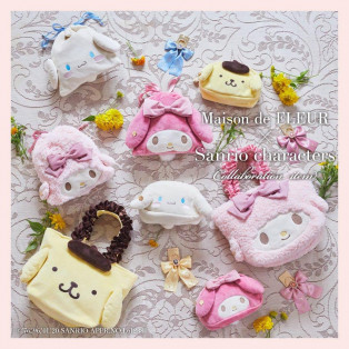 Maison de FLEUR × Sanrio characters