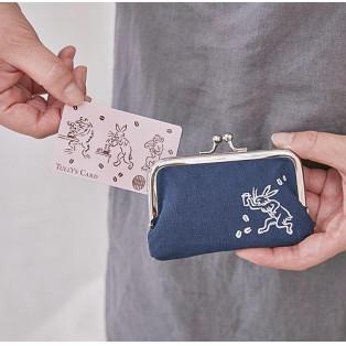 鳥獣戯画 タリーズカード&がま口カードケースセット