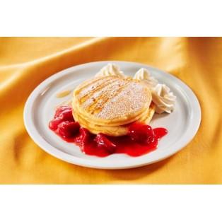 ストロベリーとはちみつのパンケーキ