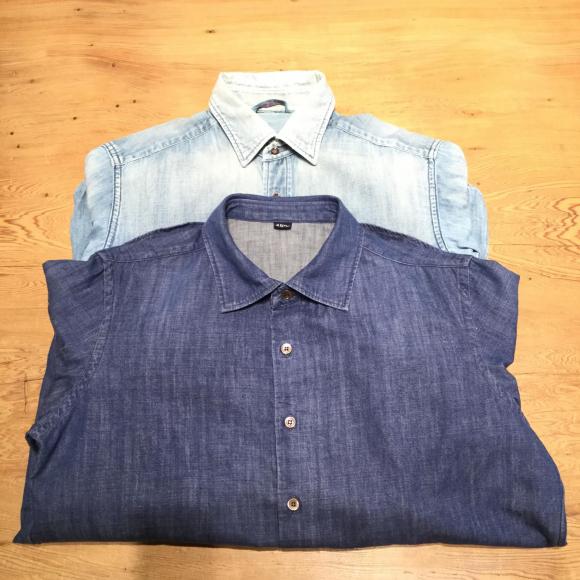 モンプチデニムの908レギュラーシャツ