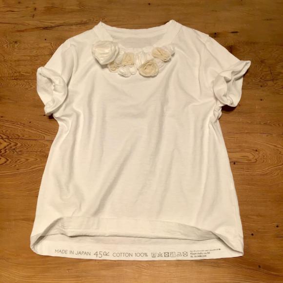 コサージュの45星Tシャツ