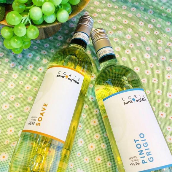 この時期おすすめ!すっきり爽やかイタリア産白ワイン