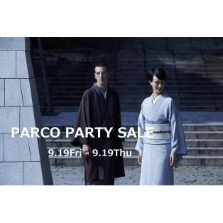 PARCO PARTY SALE 開催