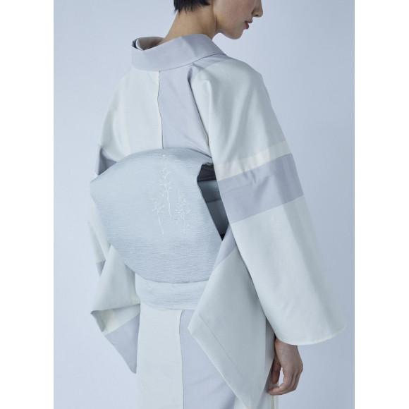 THE YARD 名古屋帯/刺繍/葡萄