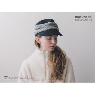 【開催中】mature ha. HAT fair AW 2018 / 2018.10.23 - 11.11