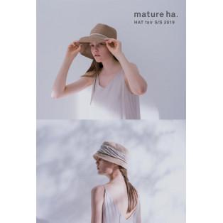 【5/24~6/9】mature ha. HAT fair S/S 2019