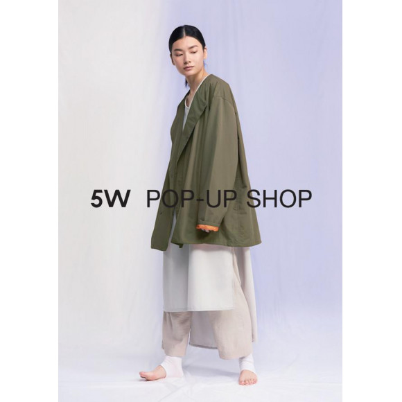 【2/21~3/22】5W POP UP SHOP