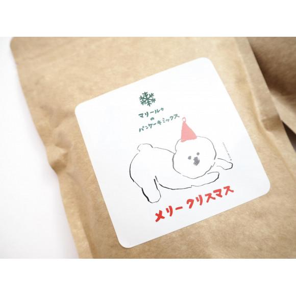【12月限定】マリールゥのパンケーキミックス  XMAS MAMBO パッケージ