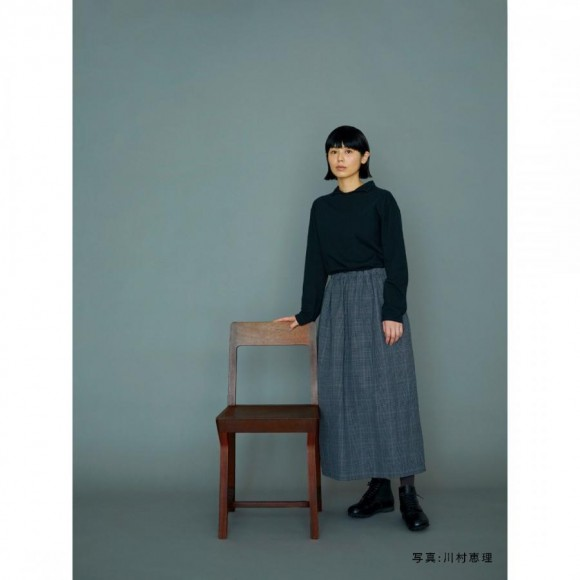 【PARCO ONLINE STORE】ウールリネンウェザースカート / D