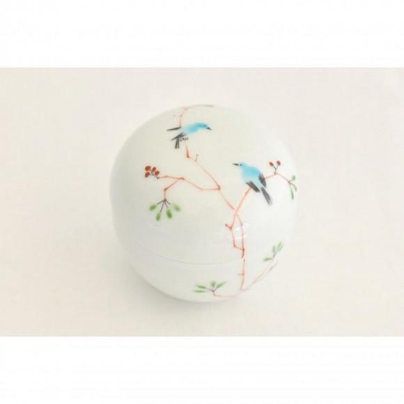 【PARCO ONLINE STORE】丸蓋物 鳥 / M.Pots