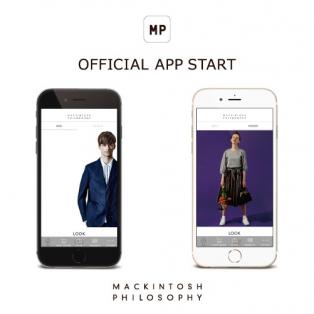 2017.5.24(wed) MACKINTOSH PHILOSOPHY 公式アプリ ついにSTART!