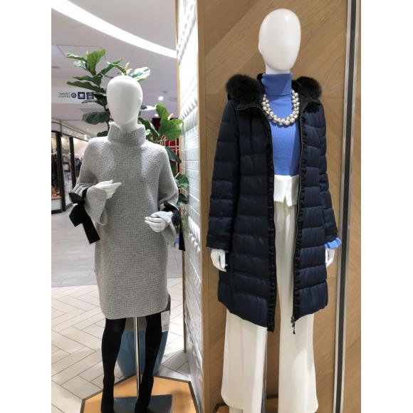 ランバンオンブルー冬ファッション♡