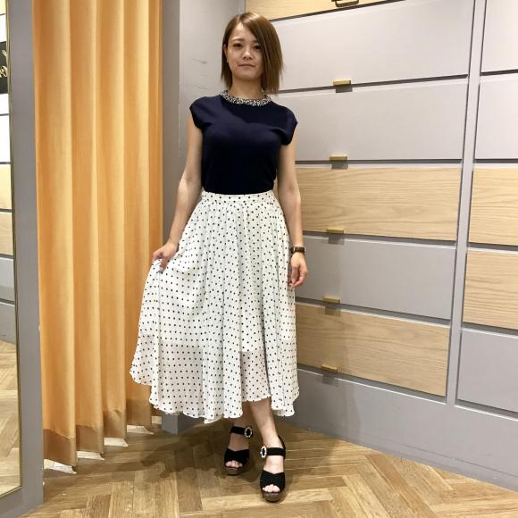 ロマンティックなスカート♡